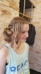 Modell - Hairstyling Annelise